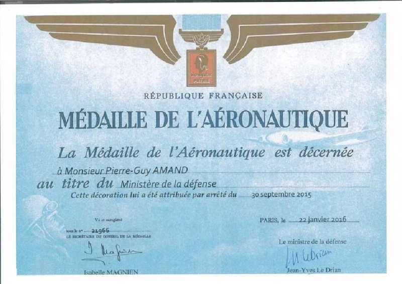 MEDAILLE  DE L'AERONAUTIQUE Mydail11