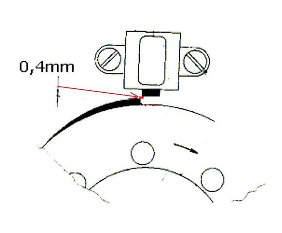 Cliquetis moteur 250/1 TS MZ Dist_610