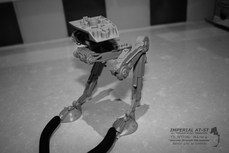 """Imperial AT-ST """"Journey through the swamp"""" (BANDAI) [WIP] 1011"""