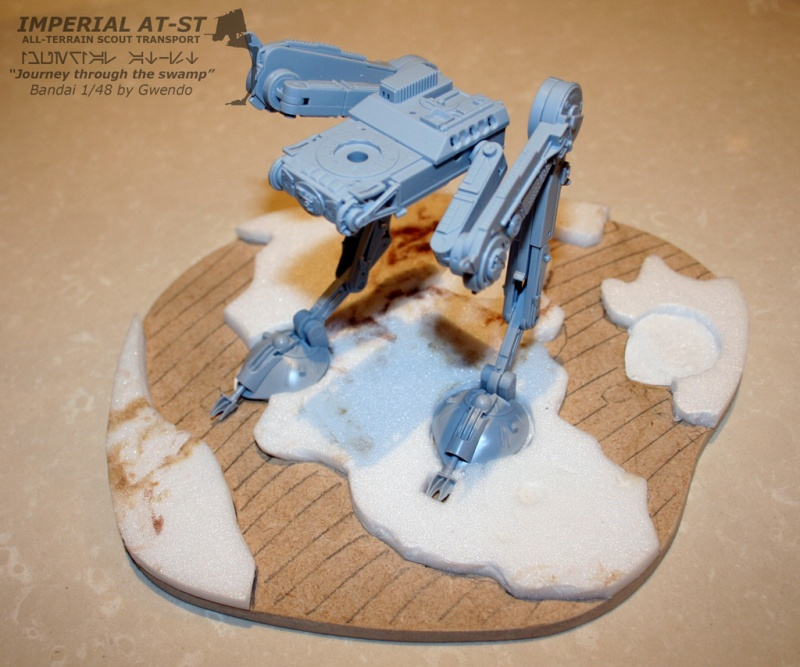"""Imperial AT-ST """"Journey through the swamp"""" (BANDAI) [WIP] - Page 2 1110"""