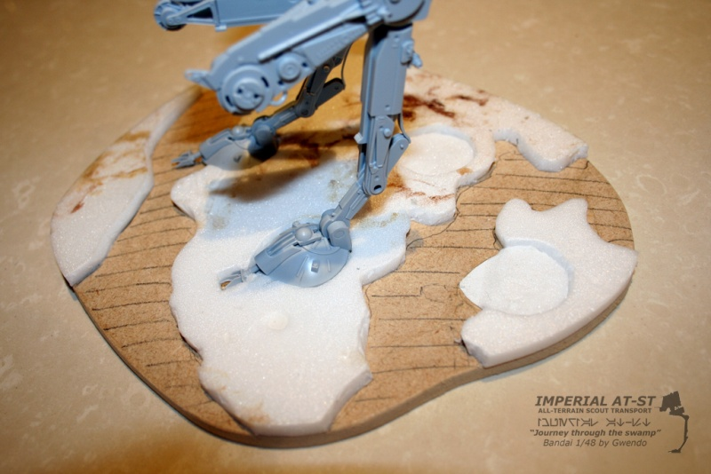 """Imperial AT-ST """"Journey through the swamp"""" (BANDAI) [WIP] - Page 2 1211"""