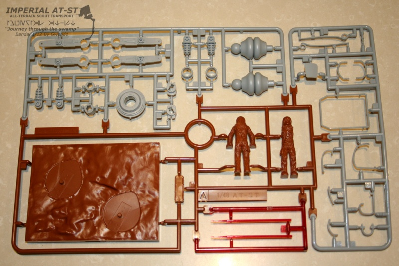 """Imperial AT-ST """"Journey through the swamp"""" (BANDAI) [WIP] 210"""