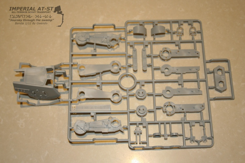 """Imperial AT-ST """"Journey through the swamp"""" (BANDAI) [WIP] 511"""