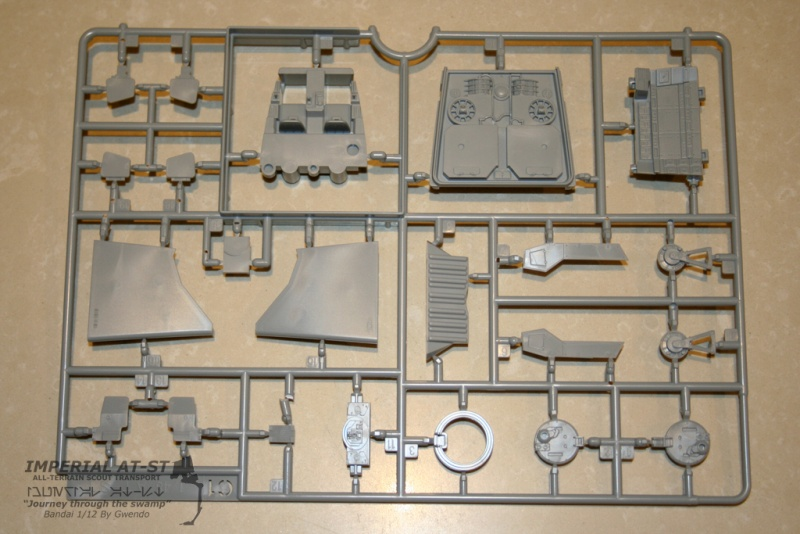 """Imperial AT-ST """"Journey through the swamp"""" (BANDAI) [WIP] 711"""