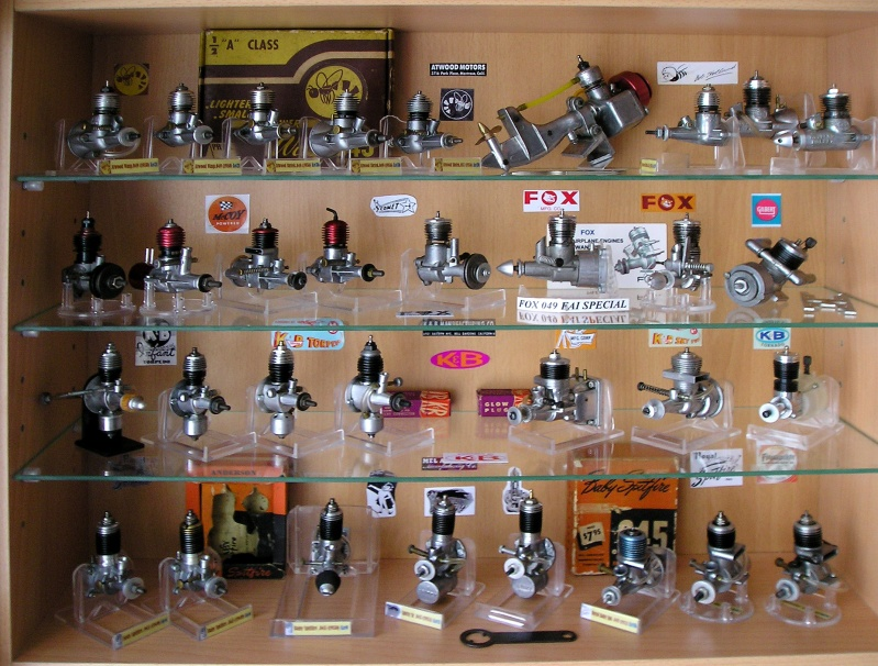American Micro Model airplanes engines ½ A Story .010 .020 .024 .035 .039 .049 .061 .074 E110