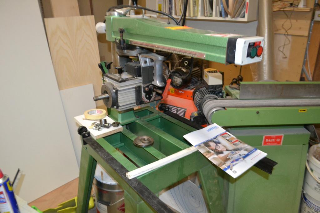 scie radial dewalt arm saws type M210 Dsc_0067