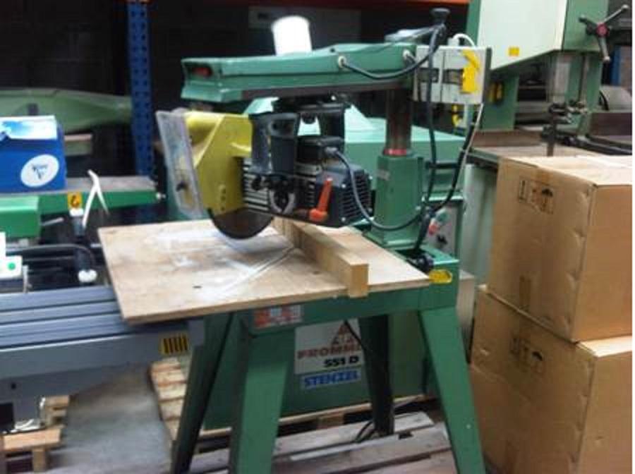 scie radial dewalt arm saws type M210 Image-10