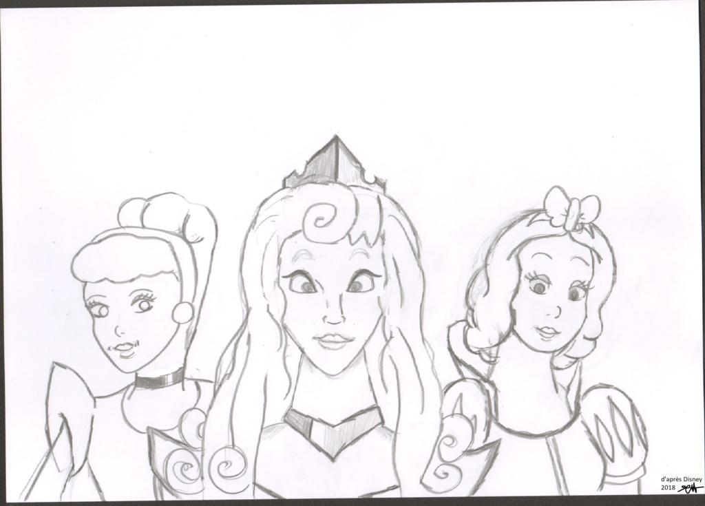 Mes dessins de Blanche Neige Mds00211