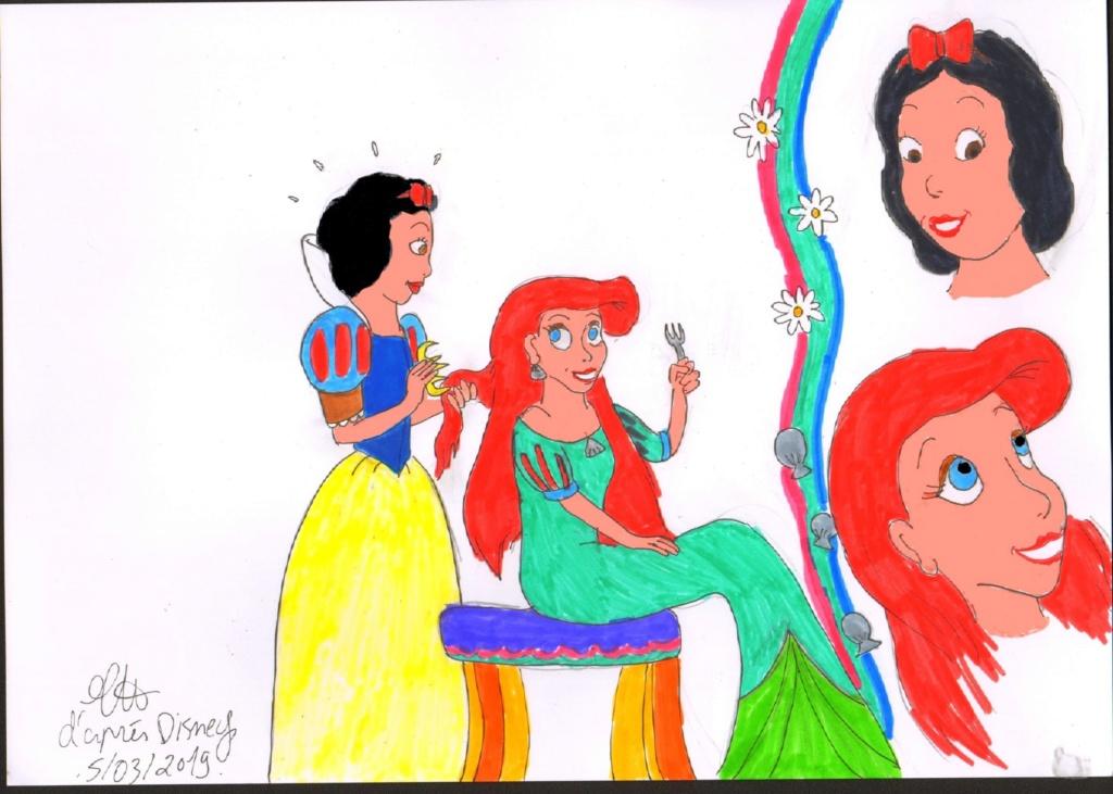 Mes dessins de Blanche Neige Mds00217