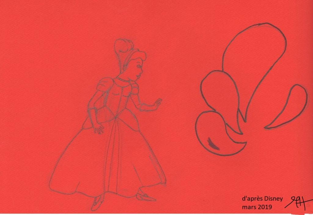 Mes dessins de Blanche Neige Mds00220