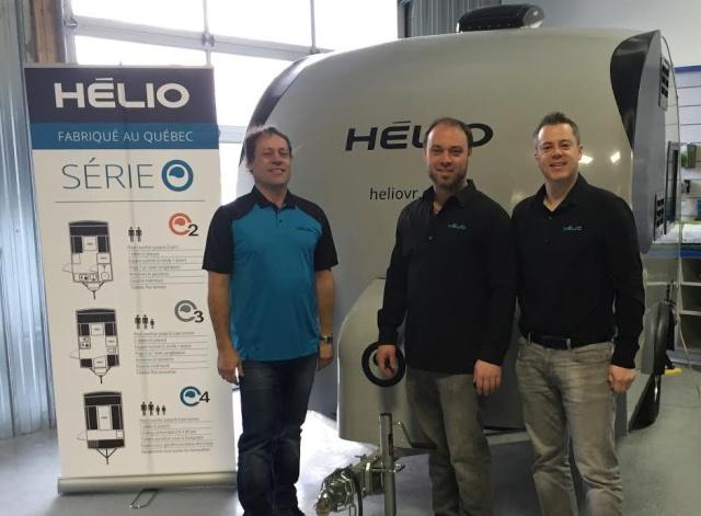De bonnes nouvelles pour Hélio Quatre10