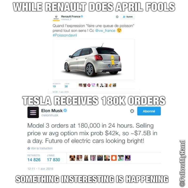 Tesla : la model 3 dévoilée - Page 3 12809710