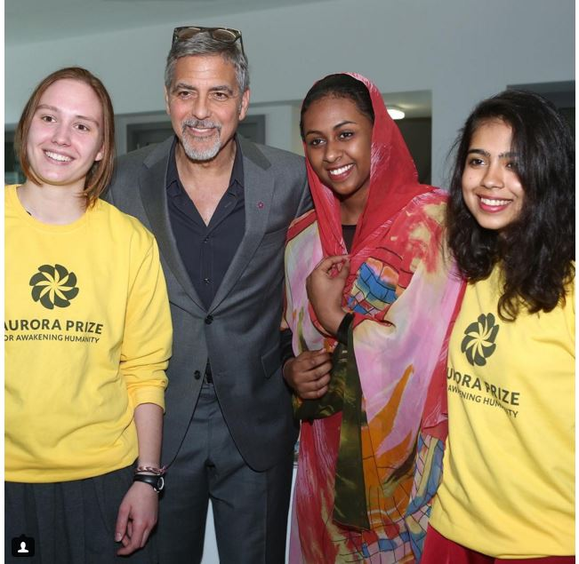 George Clooney visit an Armenian school / Tumo Center / UWC Dilijan College Bb11