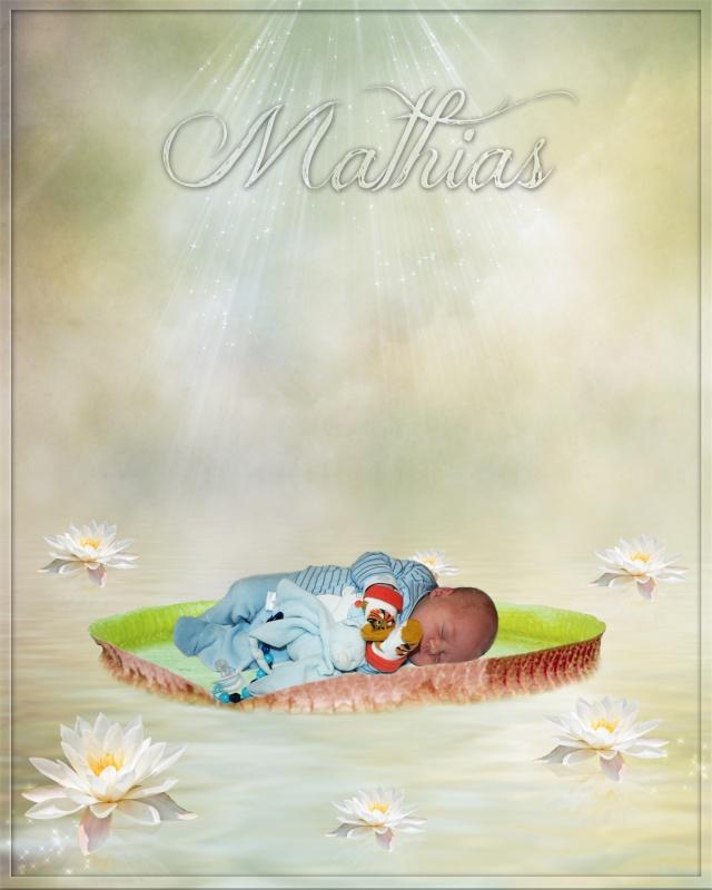 Montage pour mon neveux Mathias pour ses 2 mois demain 1_210