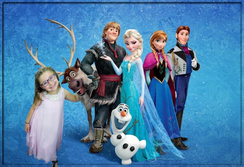montage photo princesse et reine des neiges A8616211