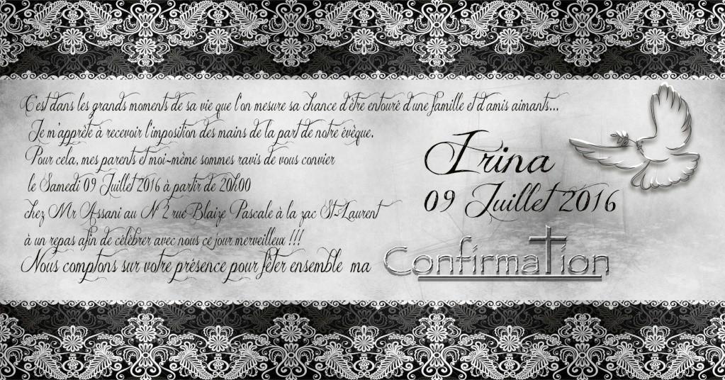 invitation confirmation Confir12