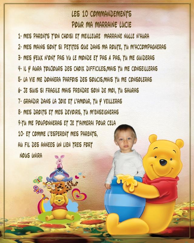 demande 10 commandements parrain marraine Marrai15