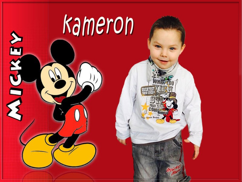 montage de mon petit fils Mickey12