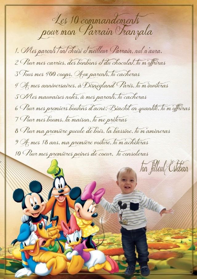 10 commandements Parrai18