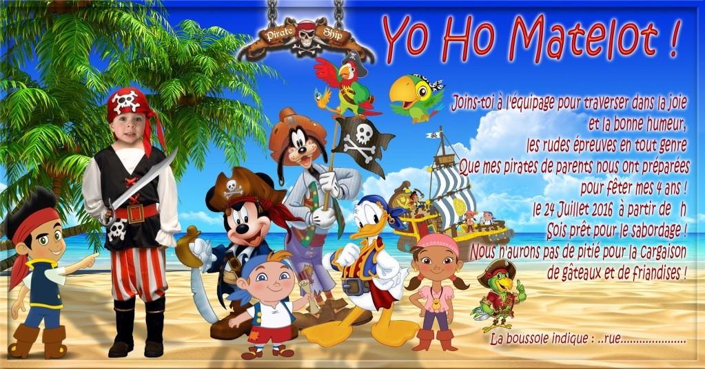 Anniversaire pirate Pirate14