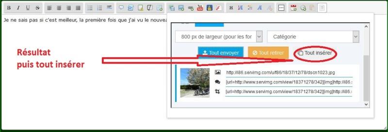 Comment insérer des images dans les messages? Afzo10