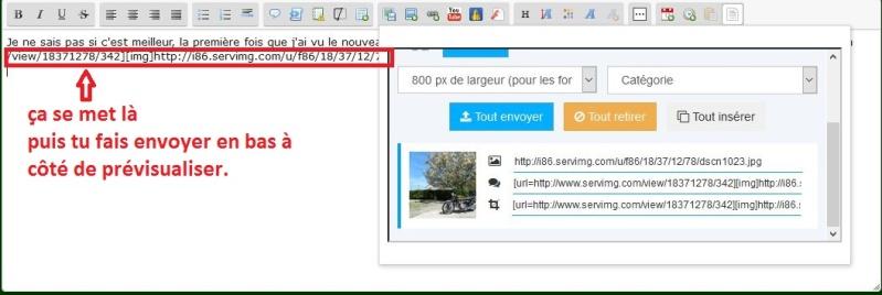 Comment insérer des images dans les messages? Afzp10