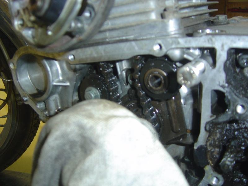 Vis du tendeur de chaine cassée  CB 125 K4 Dsc00316