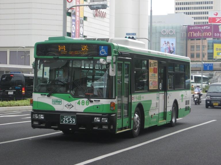 [2014年の夏][神戸市] 神戸市バス Kobe2030