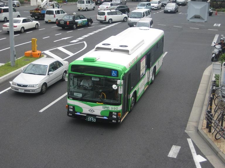 [2014年の夏][神戸市] 神戸市バス Kobe2034