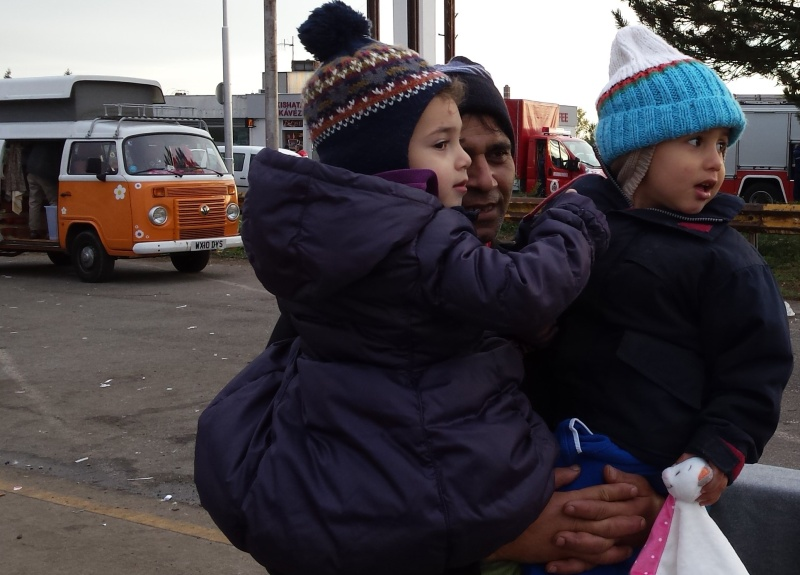 Winter of Discontent Hungary-Austria border posted here by request 2015-112