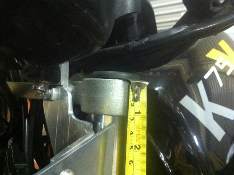 Fork length BMW K75S Image18