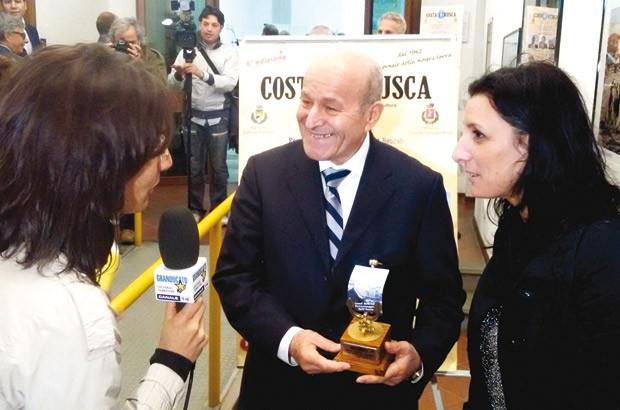 """Issad Rebrab, """"personnalité de l'année"""" en Italie 2142"""