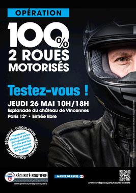 Jeudi 26 mai - Journée Sécurité Routière - Paris12 Opyrat10