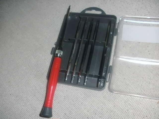 Refilling oil into a PSU-fan. Bild0712