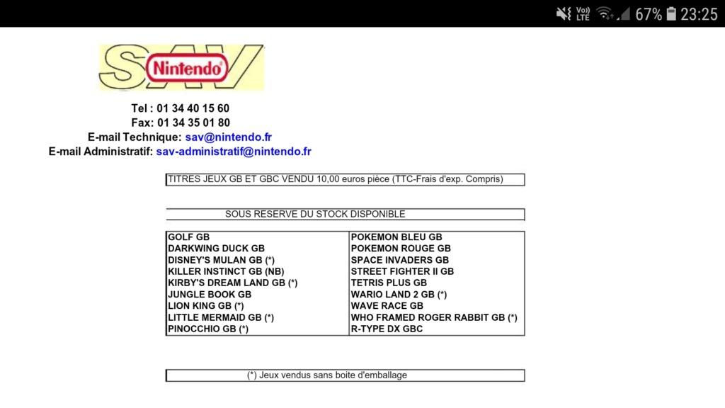 Qui vendait des jeux AES à l'époque ? Screen16