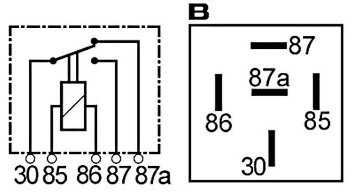fonctionnement relais 12V Relais10