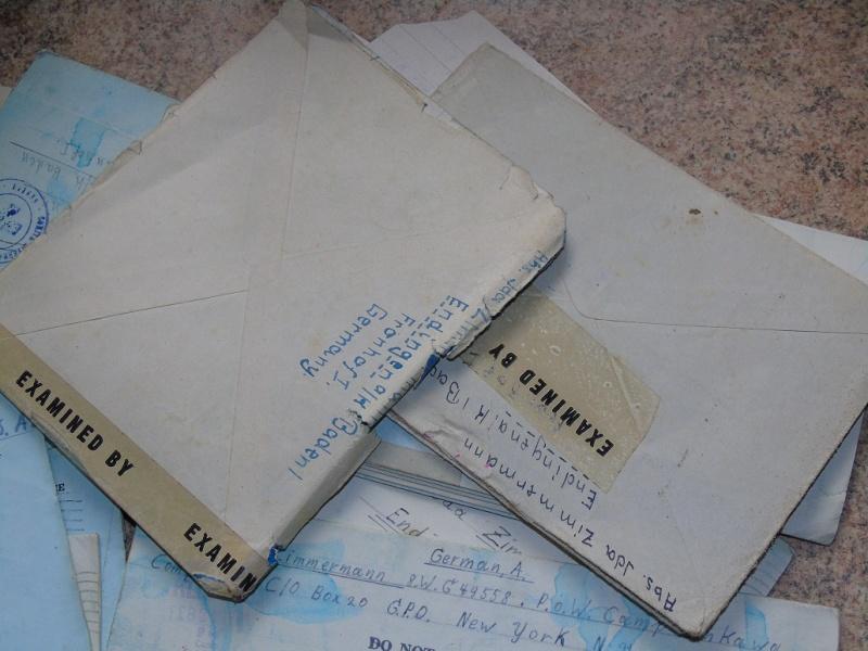 correspondance Prisionnier aux Etats unis du U-Boot 953 recherche avec Feldpost Dsc07420