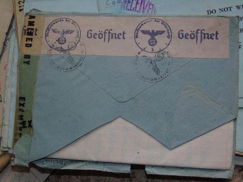 correspondance Prisionnier aux Etats unis du U-Boot 953 recherche avec Feldpost Dsc07422
