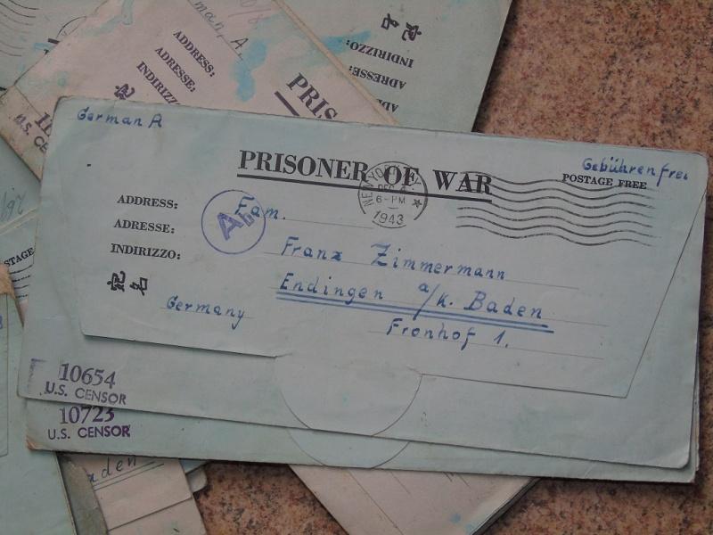 correspondance Prisionnier aux Etats unis du U-Boot 953 recherche avec Feldpost Dsc07423