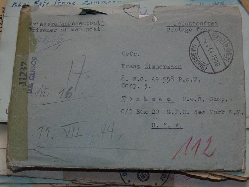correspondance Prisionnier aux Etats unis du U-Boot 953 recherche avec Feldpost Dsc07424