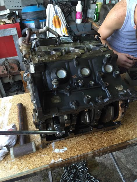 Réfection moteur 3.8 V6 2007 110