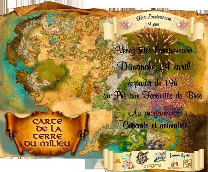 Anniversaire Lotro 9 ans Affich11