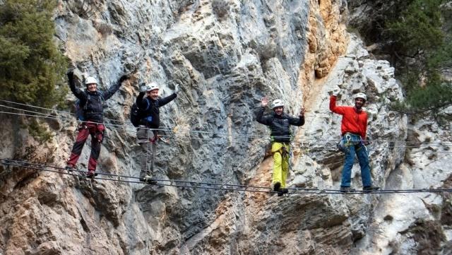Vía Ferrata: 25 y 26 de junio 2016 - Ferratas en Teruel 00010