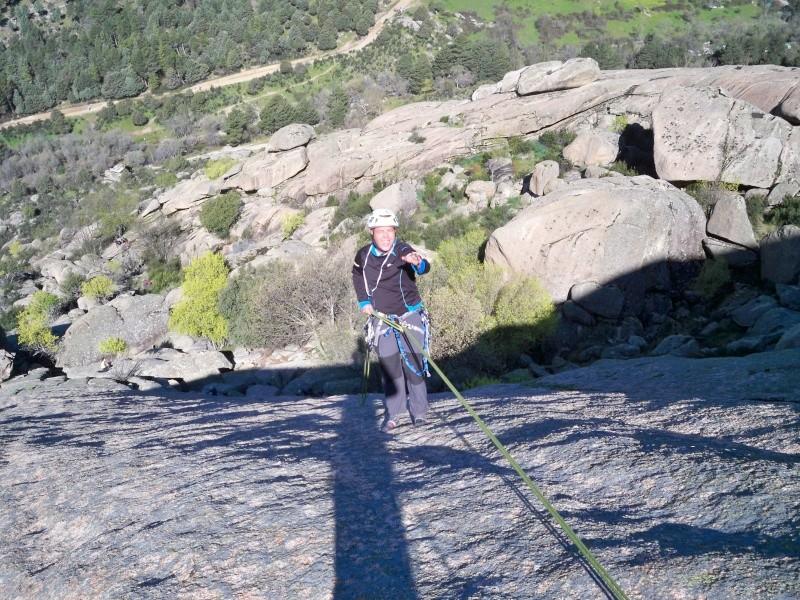 Escalada: sábado 30 de abril 2016 - La Tortuga (Pedriza) 100_1023