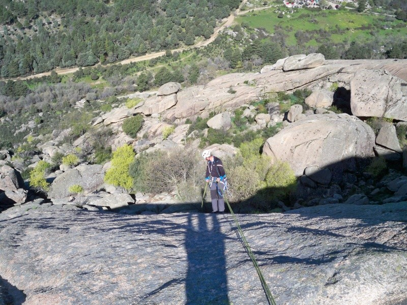 Escalada: sábado 30 de abril 2016 - La Tortuga (Pedriza) 100_1025
