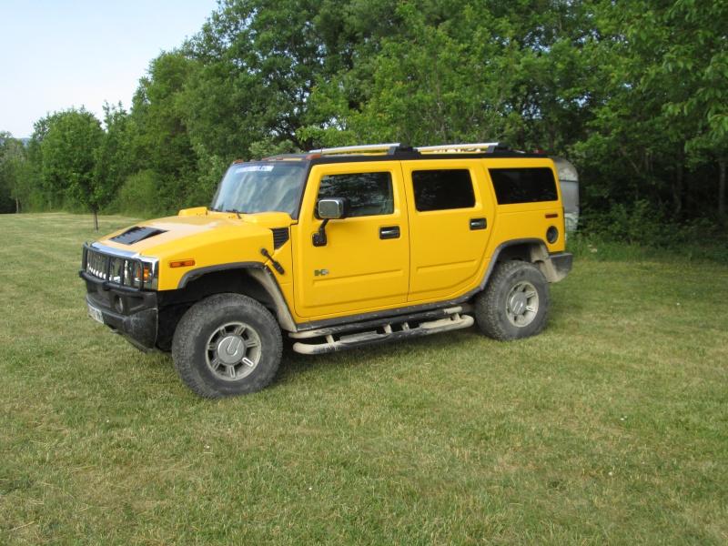 Aimez vous le Hummer en couleur jaune ? H210