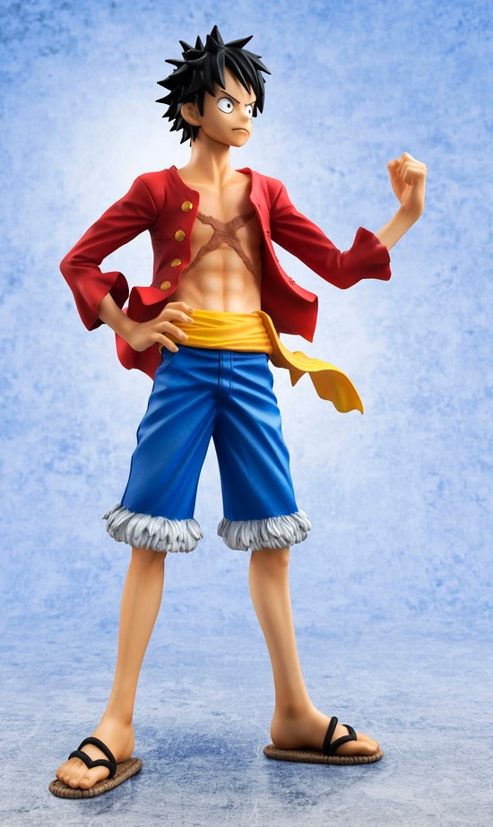 Megahouse P.O.P Monkey D. Luffy Ver.2 - Sailing Again Luffy_24