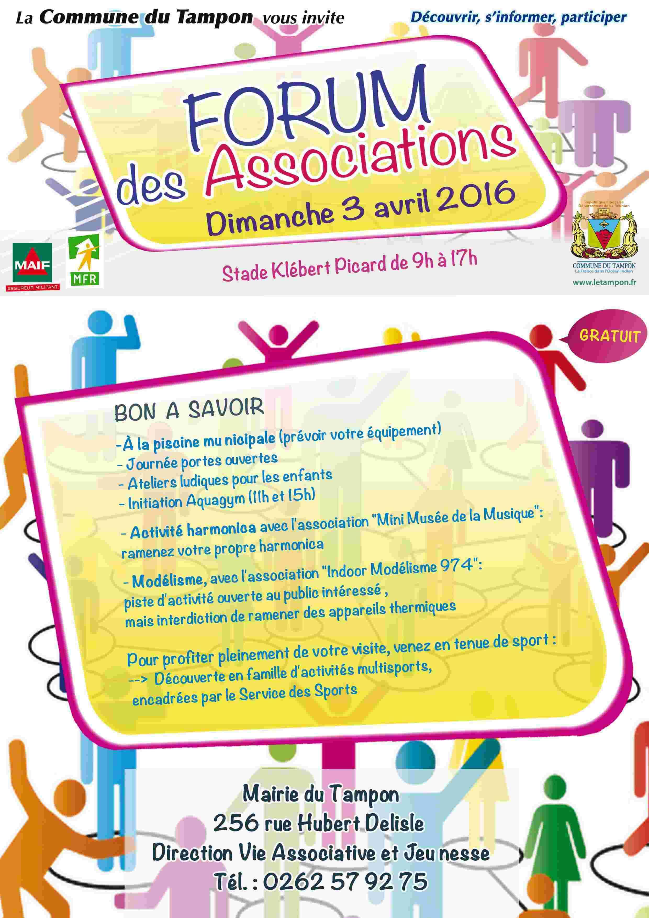 Le Forum des Associations du Tampon Avril 2016 Flyer_10