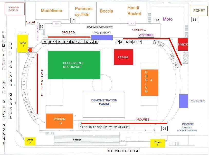 Le Forum des Associations du Tampon Avril 2016 Plan10