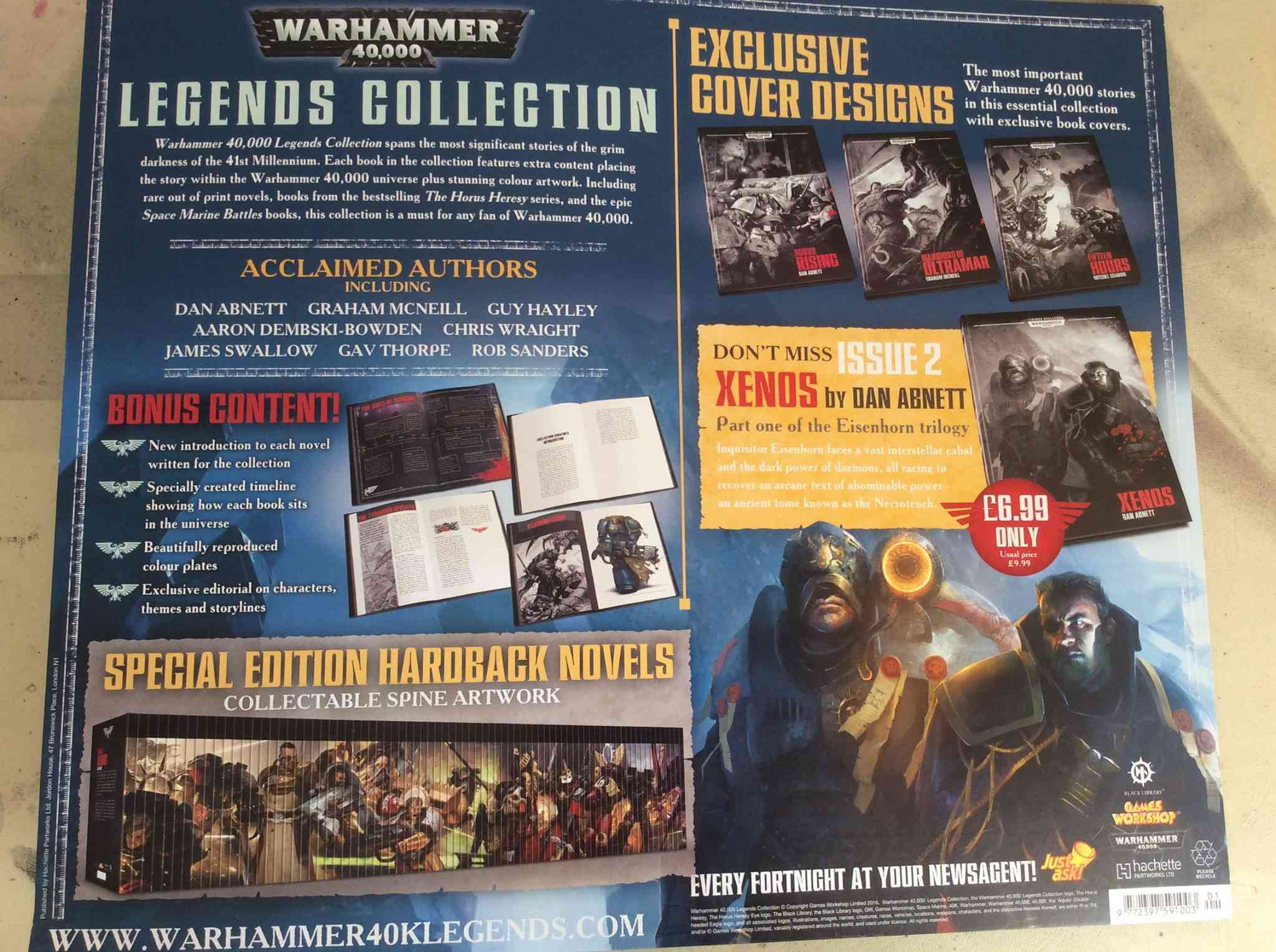 Programme des publications The Black Library 2016 - UK - Page 4 Asda210